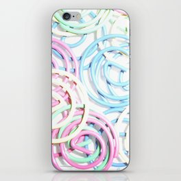 Flashy Paper Clips iPhone Skin