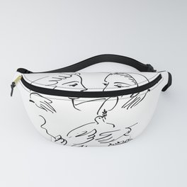 Pablo Picasso Women With A Dove 1955 T Shirt, Artwork Sketch Fanny Pack