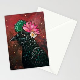 Desert Crow Stationery Cards