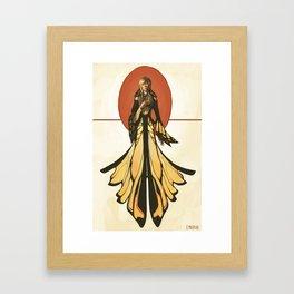 Butterfly Attire Framed Art Print