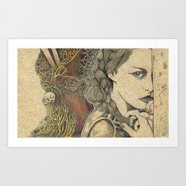The Arsonist's Vision Art Print