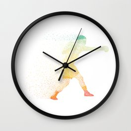 Abstract Artistic Boxing Gift Wall Clock