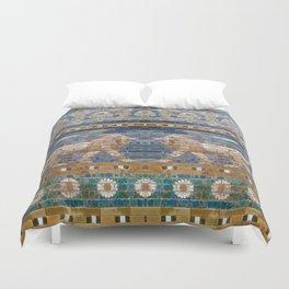 Lion Mosaic Duvet Cover