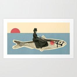 The Oceanride Art Print