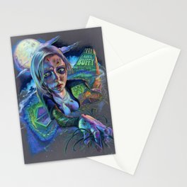 Night of the Living Buffy Stationery Cards