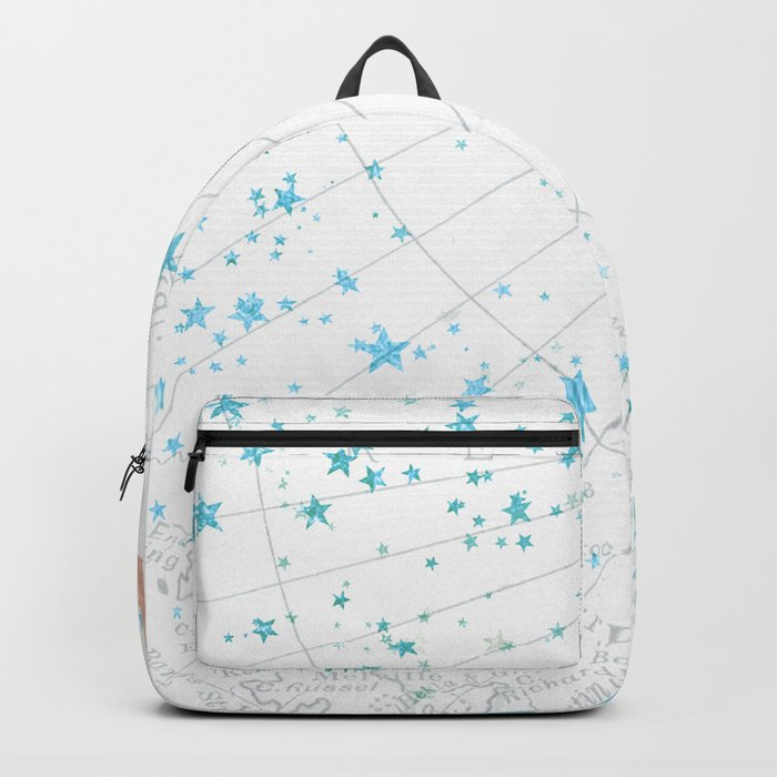 Adventure Awaits Rose Gold Backpack