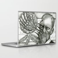 freud Laptop & iPad Skins featuring Freud by CasiRodriguez