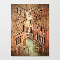 One day in Venice Canvas Print