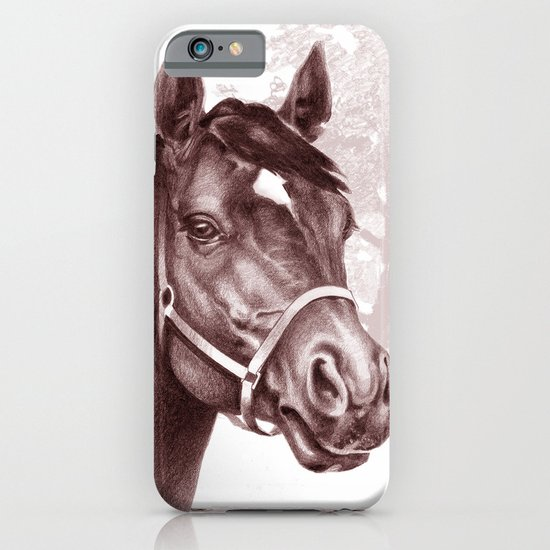 Stare of The Stallion iPhone & iPod Case