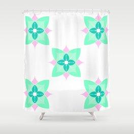 Easter Flower Shower Curtain