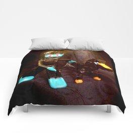 ninja gumby and ninja pokey Comforters