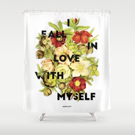 I Fall In Love, 2015 Shower Curtain