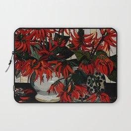 """Coral Flowers"" by Australian Artist Margaret Preston Laptop Sleeve"