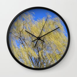 Wind in a Willow Wall Clock