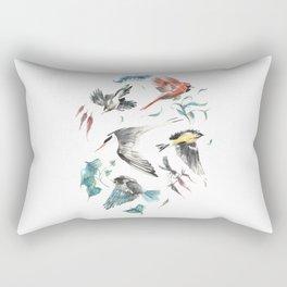 Birdwatching Rectangular Pillow