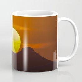 """Desert Sunset 1"" by Murray Bolesta Coffee Mug"