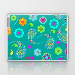 Green Paisley № 5 Laptop & iPad Skin