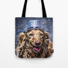 Party Dog Tote Bag
