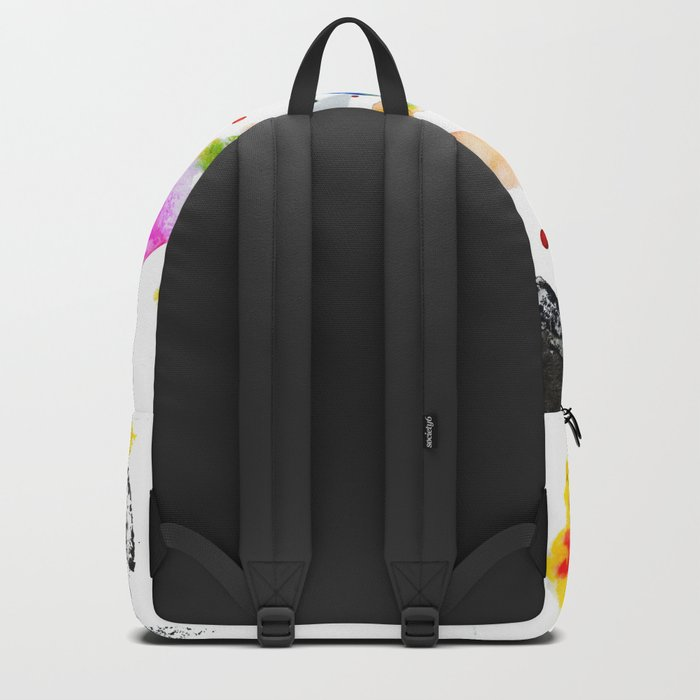Abstract Ink Backpack