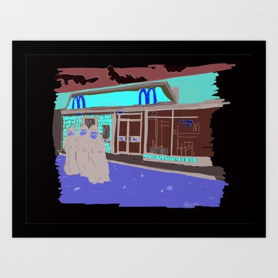 """""""Mickie Dee's""""  Art Print"""