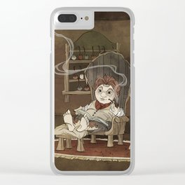 A Merrier World Clear iPhone Case