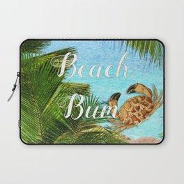 Beach Bum Summer Fun Laptop Sleeve