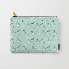 world of unicorns and ice cream Carry-All Pouch