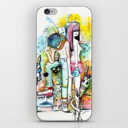 Your Love Fight iPhone Skin