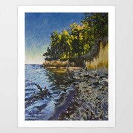 Chesapeake Beach Art Print