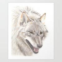 Wolf! Art Print