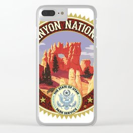 Bryce Canyon Clear iPhone Case