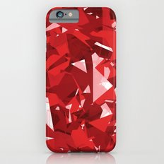 Abstract Red iPhone 6s Slim Case