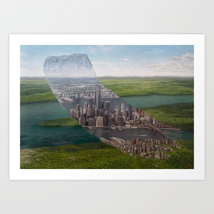 Human Nature - Brushstrokes in Time Kunstdrucke