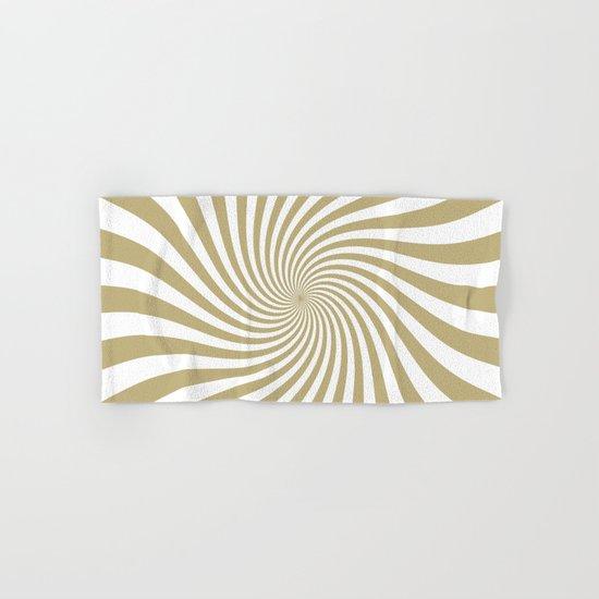 Swirl (Sand/White) Hand & Bath Towel