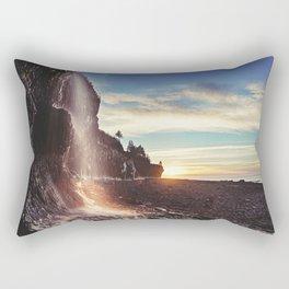 Bay of Fundy Waterfall Rectangular Pillow