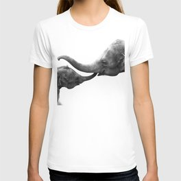 Wildlife Collection: Elephant Love T-shirt