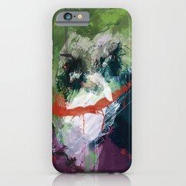 A Joker painting iPhone Case