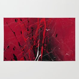 Rising - abstract painting by Rasko Rug