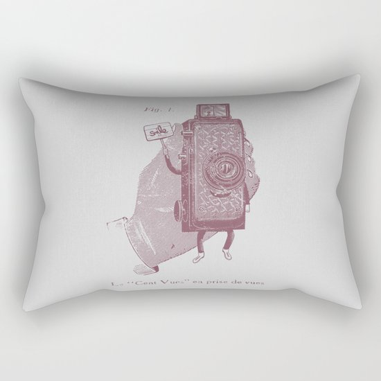 Cent Vues Rectangular Pillow