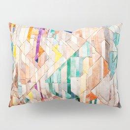 Pastel Tile Mosiac 1 Pillow Sham