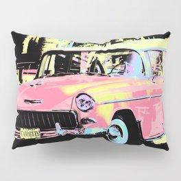 Cuban Classic Car Pillow Sham