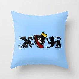 Merlin (Merthur) Crest Throw Pillow