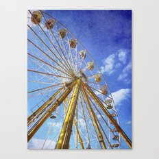 At the Funfair (3) Canvas Print