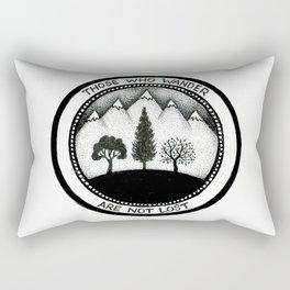Wanderling Woods Rectangular Pillow