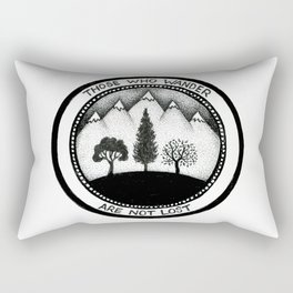 Wanderling Woods Rectangular Pillow