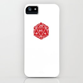 Dungeon RPG DND Gaming Tabletop Dragons Dice Games  iPhone Case