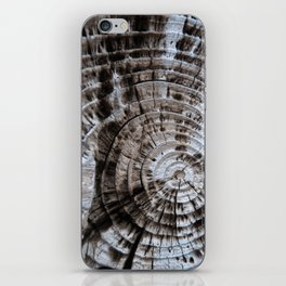 Norwegian Whaling Wood iPhone Skin