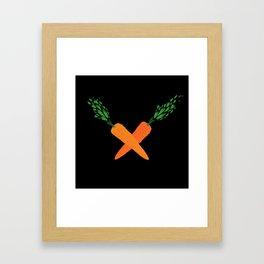 rabbit crest Framed Art Print