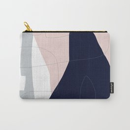 Pastel Shapes Abstract Carry-All Pouch