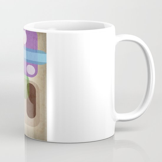Retro Make'a Me Smile.  Mug